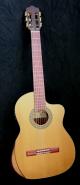 Kantare Dolce cutaway klassisk gitar med armstøtte og elektronikk