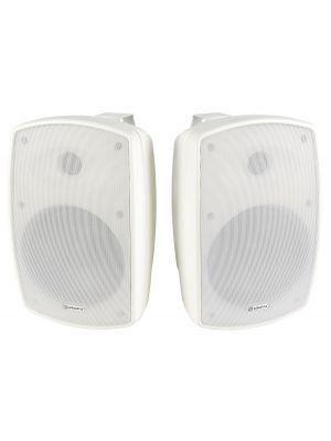 Adastra BH6 innendørs / utendørs bakgrunnshøyttalere - par hvite
