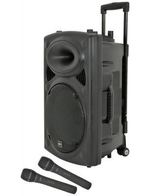 QRPA BærbarPA med Bluetooth og trådløse mikrofoner
