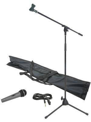 Mikrofon m/Stativ - Sett