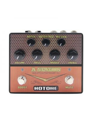 HOTONE PERFORMER A Station AD-20 A Station: Acoustic Guitar Preamp / D.I.. Preamp / DI.