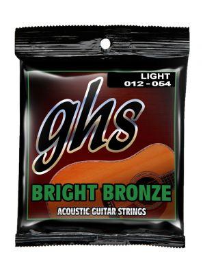 GHS BB30L AC GUITAR. BRIGHT BRONZE. LT. 012-BB54. Strengesett til akustisk gitar.