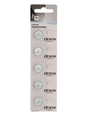 HQ Litium Knappecellebatteri CR1616 3 V 5-Blister