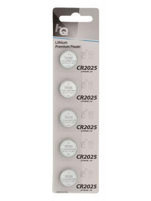 HQ Litium Knappecellebatteri CR2025 3 V 5-Blister