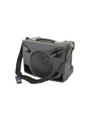 DT50 bærbar PA bordmodell m/ 2 stk trådløs mikrofoner