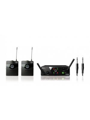 AKG WMS40 MINI2 dual system med 2 x lommesender