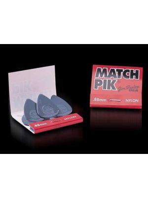 DUNLOP Match Pik 6 pakning m/plekter 1.0