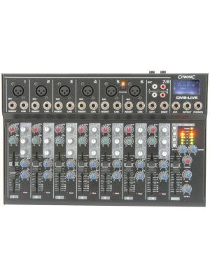 Kompakt live mixer med delay og USB/SD player CM8-LIVE (utstillingsmodell)
