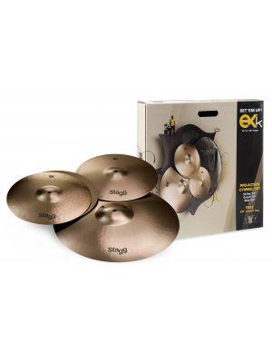 Stagg EXK SET Cymbalpakke B8 Bronze