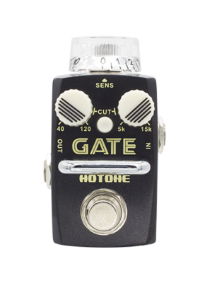 HOTONE SKYLINE STOMPBOX GATE SNR-1 Single Footswitch Analog Noise Reducer Pedal  Effektpedal