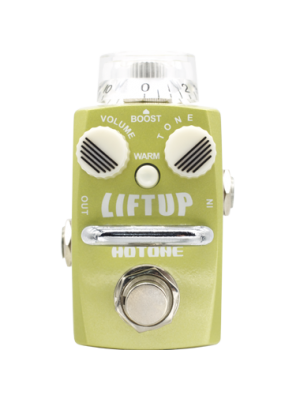 HOTONE SKYLINE STOMPBOX LIFTUP SDB-1 Single Footswitch Analog Boost Pedal Effektpedal