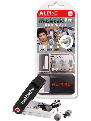 Alpine MusicSafe Pro earplugs silver grey