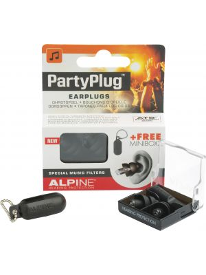 Alpine PartyPlug earplugs black