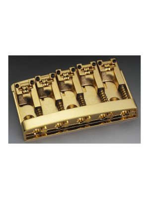 ALLPARTS BB-0322-002 Schaller Gold 5-String Bridge