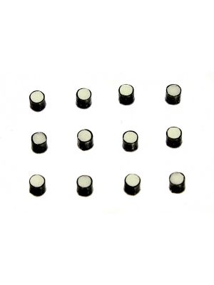 ALLPARTS LT-5497 Pack of 12 Glow-in-the-dark 2.3 mm Side Dots