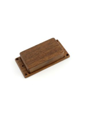 ALLPARTS PC-0304-0W0 Humbucking Pickup Cover No Holes Walnut