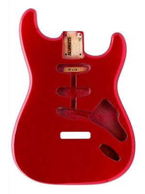 ALLPARTS SBF-CAR Candy Apple Red Finished Replacement Body for Stratocaster®