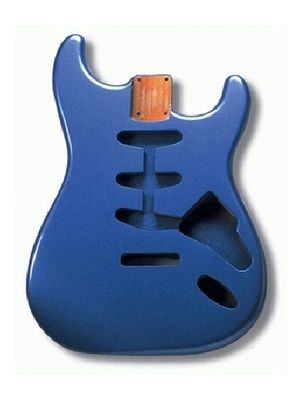 ALLPARTS SBF-LPB Lake Placid Blue Finished Replacement Body for Stratocaster®