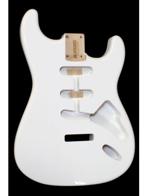 ALLPARTS SBF-OW Olympic White Finished Replacement Body for Stratocaster®