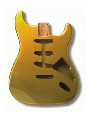 ALLPARTS SBF-SGM Shoreline Gold Finished Replacement Body for Stratocaster®