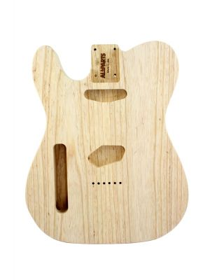 ALLPARTS TBAO-L Left Handed Ash Replacement Body for Telecaster®