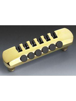 ALLPARTS TP-0398-002 Schaller Gold Stop Tailpiece
