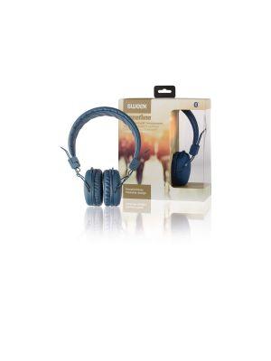 Bluetooth hodetelefon Blå