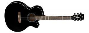 Cort SFX1F Stålstr.Gitar m/Pickup og Cutaway, BKS