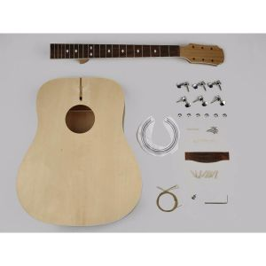Byggesett Gitar Boston AGD-10 Dreadnought DIY Kit