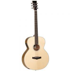 TANGLEWOOD TWBZ Evolution Exotic Acoustic Baritone Guitar