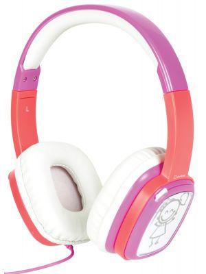 Doodle Pink Hodetelefon for barn
