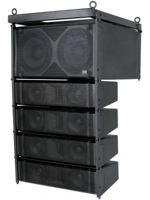 CITRONIC CLA-300 ACTIVE LINE ARRAY SPEAKER SYSTEM - 300W+300W rms