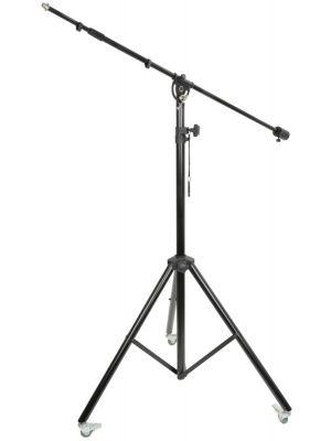 Studio boom mikrofon stativ med hjul