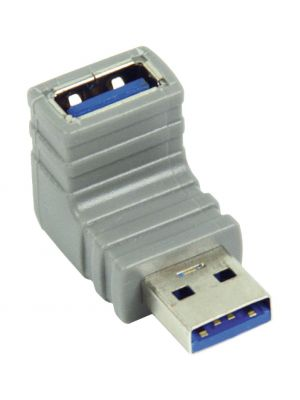 90°-vinklet USB 3.0-adapter