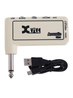 XVive Amplug – Acoustic Hodetelefonforsterker for akustisk gitar