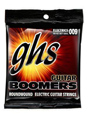 GHS GBXL EL GUITAR. BOOMERS. EXTRA LIGHT. 009. 009-DY42. Strengesett til elektrisk gitar.