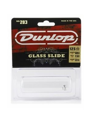 Dunlop 203 Pyrex Glass Slide, Medium Wall, Large