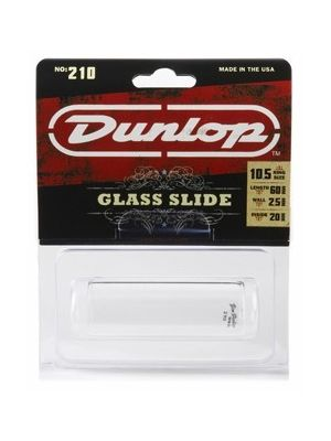 Dunlop 210 Pyrex Glass Slide, Medium Wall, Medium