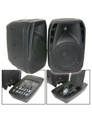 DUET300 KOMPAKT PA SYSTEM med Bluetooth® 2 x 150W