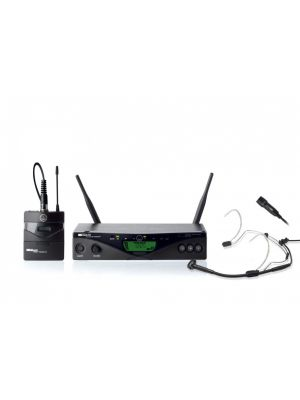 AKG WMS470 trådløst system med lommesender, bøyle og mygg, C555L, CK99L
