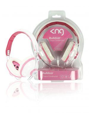 KNG Bulldozr - chaos constructor rosa Hodetelefon