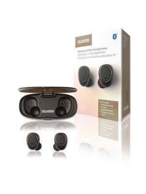 Bluetooth in-ear hodetelefon m/ TWS-teknologi (True Wireless Stereo)