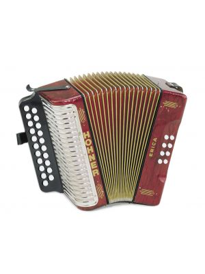 HOHNER 1600/2 Erica, AD, HT, red
