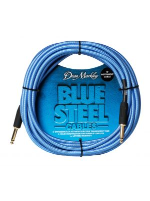 DM Blue Steel Cable 10FT STRAIGHT