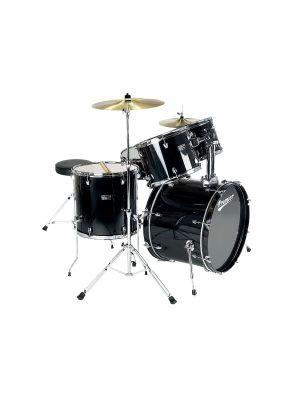 PREMIER OLYMPIC MODERNROCK22 6195BK-S - Trommesett med cymbalpakke.