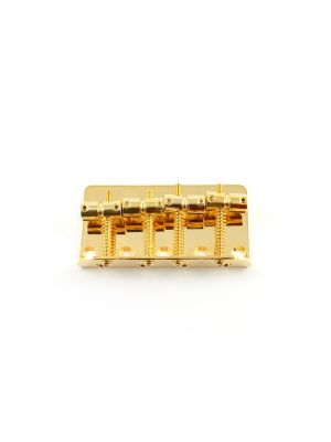 ALLPARTS BB-0310-002 Gold Bridge for P-Bass® and J-Bass®