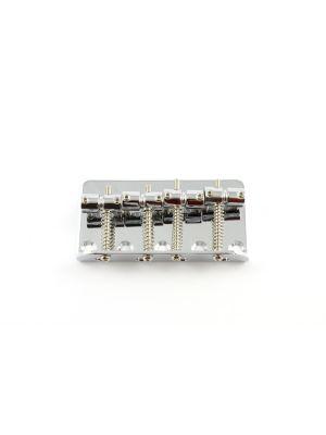 ALLPARTS BB-0310-010 Chrome Bridge for P-Bass® and J-Bass®