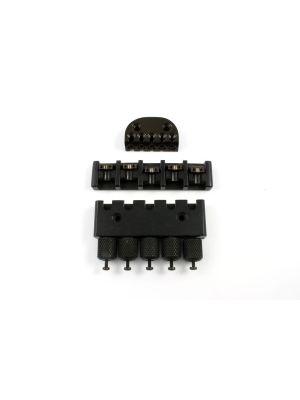 ALLPARTS BB-0343-003 ABM 3910-C-7082-B 5-String Headless System, Black