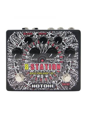 HOTONE PERFORMER B Station BD-20 B Station: Bass Preamp + D.I.. Preamp / DI.