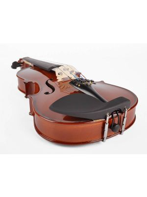 Leonardo LV-1534 Basic series violin outfit 3/4, all solid, nitro varnish, blackened hardwood fittings, finetuner tailpiece, case